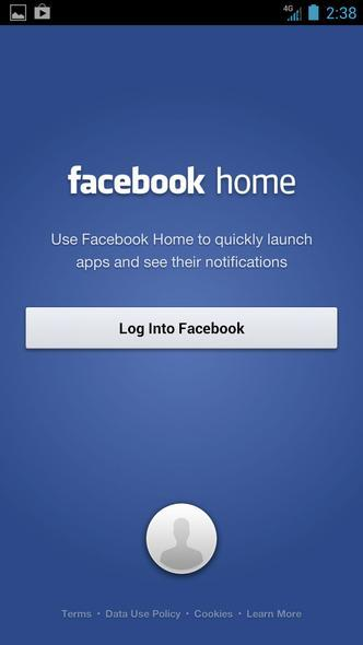 FacebookHomeSetup-Login